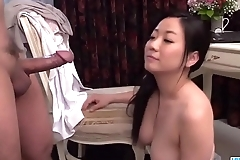 Busty Shino Izumi loves sucking the cock until orgasm  - More at 69avs com