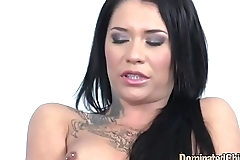 Dominated bdsm beauty gets assfucked
