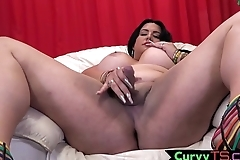 Cock tugging bbw tranny bends over and twerks