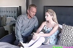 FamilyOrgasm.com - Pleasing Daddy Beside Mommy
