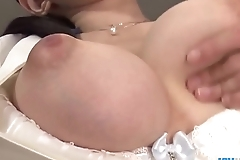 Yui satonaka enjoys vibrator cede will not hear of slit together with bore - more at javhd.net