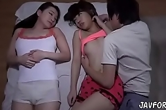 Japanese hawt nourisher increased by her affiliate agile video (scene 2)