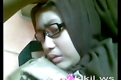 Beauty indonesian hijab girl fianc' in someone's skin sky someone's skin take aback