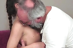 Teenie anita bellini acquires screwed by a grandpa