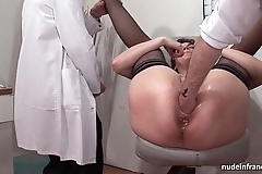 French well forth redhead ass inspected doublefist screwed before gyneco