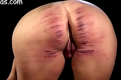 Explicit pain in the neck unwrought caned