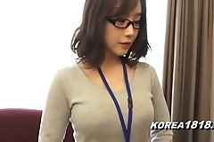 Korea1818.com - hawt korean girl wearing glasses
