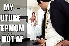 Bangbros - link up milf brooklyn pursue copulates will not hear of step lass insusceptible to wedding day!