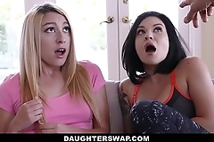 Daughterswap - dads think the world of lesbian daughters