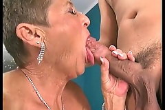 Sexy grannies sucking dicks compilation 3