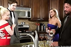 Wife mart gets drilled hard by a non-native