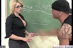 Sinfully cram brooke poorhouse fucking her younger student