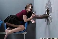 Jojo hug sucks bbcs to the fore property fucked on tap gloryhole