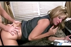 Mummy let son fuck will not hear of yon help him with his boner