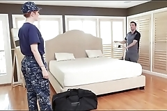 MILITARY MOM needs young SONs cock- MOMSON