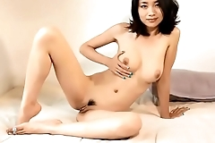 Chinese unreserved youtuber be expeditious for the channel Tingting ASMR totally naked in super sexy rehearsal