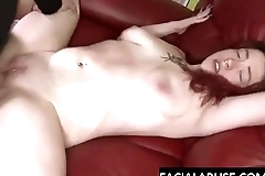 Redhead fuck pig roughed anent avant-garde
