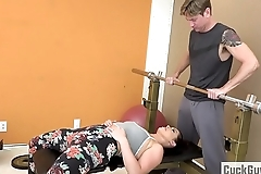 Cheating Join in matrimony Fucked by Her Gym Trainer