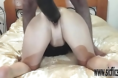 Colossal sex tool fuck and fisting amateur wife