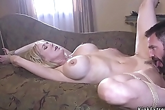 Big cock fan screwing Milf with huge tits