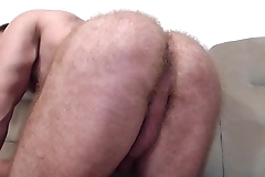 Bigdudex from Bucuresti, Romania in the same manner his uncut cock and furry asshole