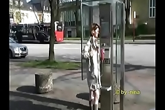 Nina flashing in public 1